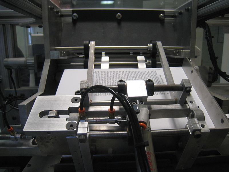 Abbildung: Book-on-Demand-Druckmaschine