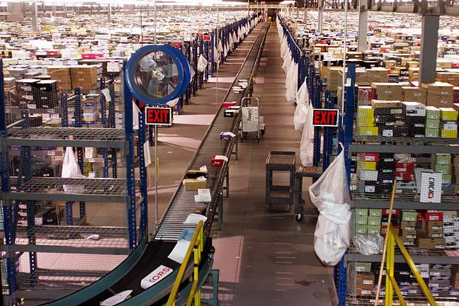 Beispiel Amazon-Fulfillment-Center