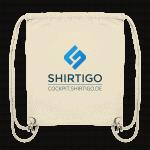 Organic Gymbag mit Shirtigo-Cockpit-Logo