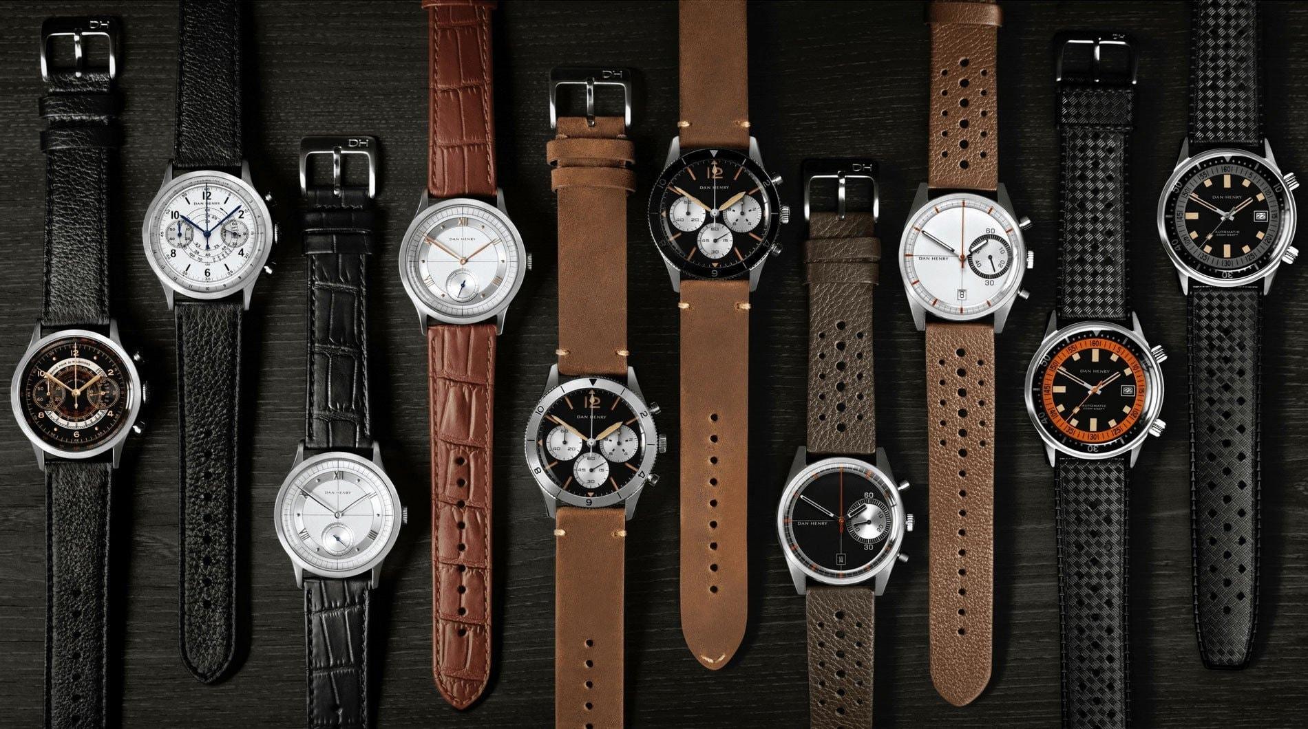 Armbanduhren des Microbrand-Uhrenherstellers Dan Henry Watches